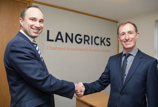 Chris Langrick and Andy Milnes