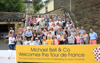 Tour de France through Yorkshire