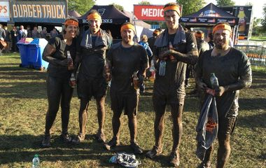 Helping the Heroes at NW Tough Mudder 2016